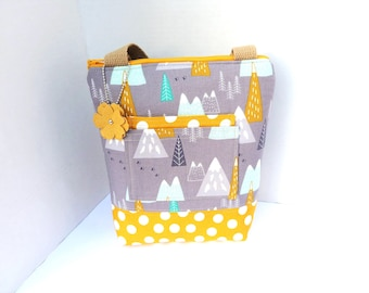 Lunch Bag / Lunch Bag With Front Pocket / Lunch Bag Insulated / Tote For Women / Lunch Bag For Women / Lunch Bag