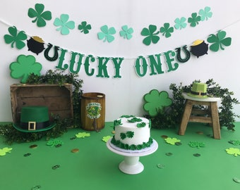 Lucky One St Patrick's Day Banner