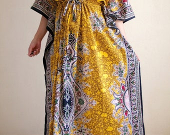 Maternity dress, maternity hospital gown, maternity dress for photoshoot, kaftan, caftan, zippered gown for special needs, hospital gown