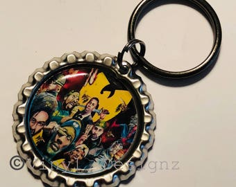 WuTang Clan Bottle cap Keychain