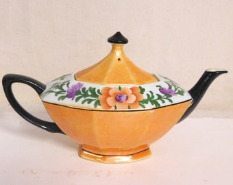 German lusterware teapot from the 20's or 30's