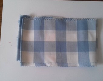 Baby Blue gingham band