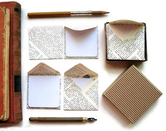 Encyclopedia Paper Mini Stationery Set
