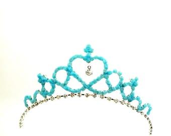 Magical Cinderella Tiara Glow In The Dark,Cinderella Magic Tiara,Glow In The Dark Crown Tiara Headband,Princess Tiara Glow In Dark
