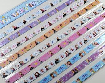 Frozen Origami Lucky Star Paper Strips Star Folding DIY - Pack of 50 Strips