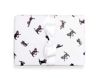 Wrapping Paper Kitttens 3 Sheets 50 x 70 cm