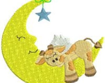 Nite-Time Friends - INSTANT DOWNLOAD - 4x4 hoop - Machine Embroidery