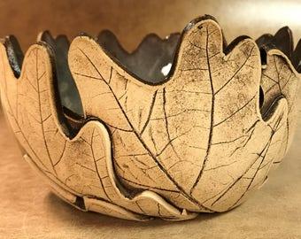 Medium Oak Leaf Bowl 137