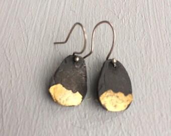 Keum boo droplet earrings