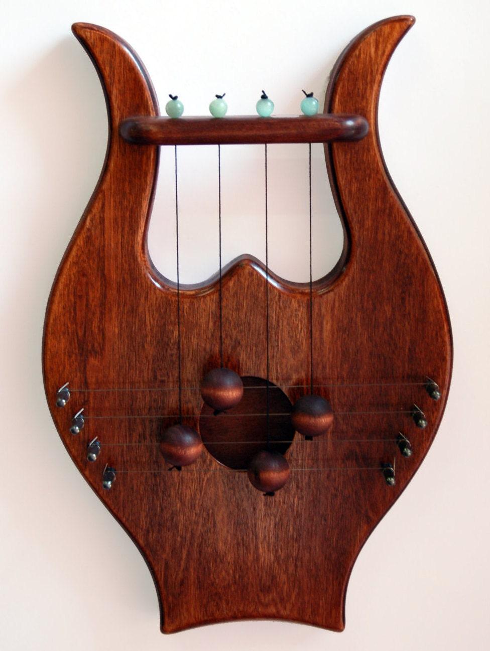 King davids lyre harp biblical door harp rosewood shade zoom publicscrutiny Images