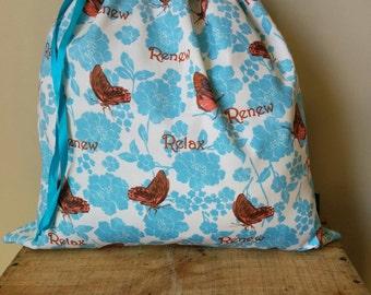 Kids Library Bag - Butterflies.