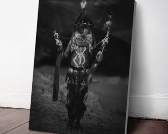 Native American Indian Canvas Print, Nayenezgani ca. 1904, Indigenous Americans, American Indian, indigenous people, NA49C