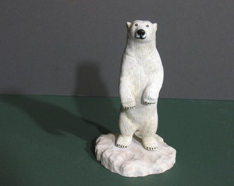 Polar Bear Carving