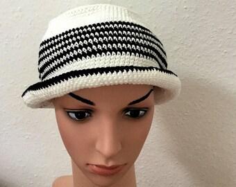 Trilby Hat crochet 62cm