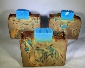 Blueberry Pumpkin Patch Handmade Soap