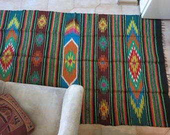 Wool rug Rustic home decor Wool Textile Art Hand Woven Wool Rug Textile art rug Kilim rug Boho bohemian rug Wall tapestry Area rug