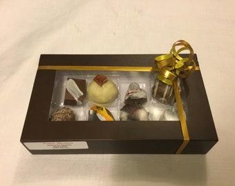 8 pack chocolate gift box