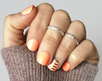 Knuckle ring • Silver Midi ring • Sterling silver above the knuckle ring • Upper knuckle ring • Mid knuckle ring • First knuckle ring