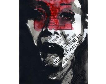 Futurism - Art Print - Art Poster - Typography - Typographic Mixed Media