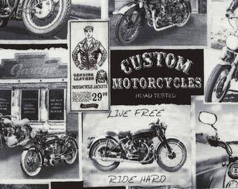 Vintage Motorcycle News-Timeless Treasures-BTY