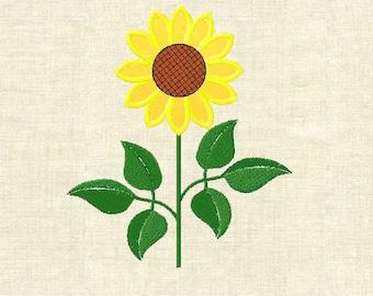 10 designs + gift! Machine embroidery design Sunflowers