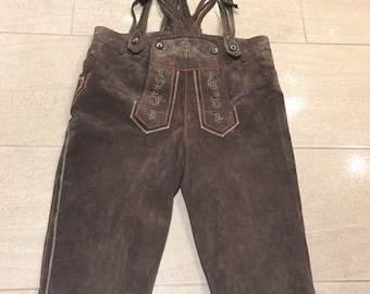 Authentic german suede pants