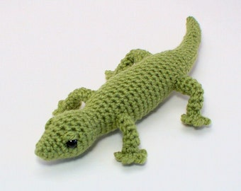 PDF Gecko (lizard) amigurumi CROCHET PATTERN