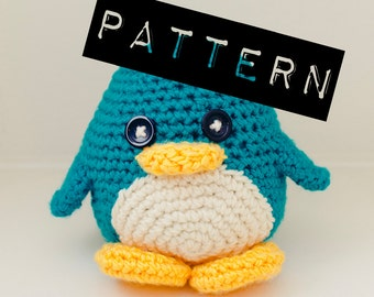 Huggable Penguin Pattern