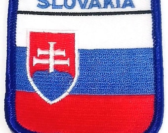 Slovakia Embroidered Patch