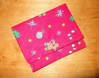 Small Wallet Business Card Wallet Gift Card Holder Christmas