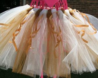 golden wedding tutu