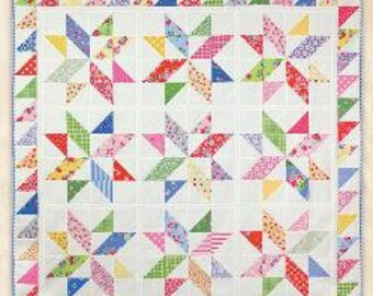 Morning Joe- Schnibbles quilt pattern by Miss Rosie's Quilt Co.