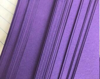 Purple~ Moravian German Froebel Star Paper (52 strips)