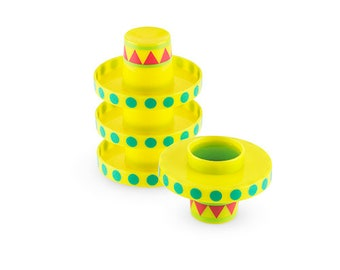 Sombrero Shot Glasses / Fiesta Shot Glasses/ Fiesta Party