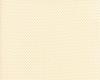 Home Sweet Home Pink on Cream Swiss Heart Yardage  SKU# 20577-11