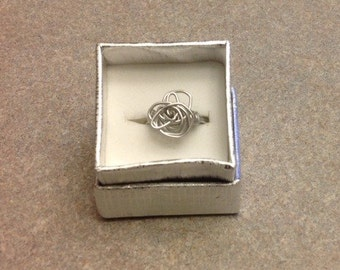 New handmade wire wrapped ring size 6