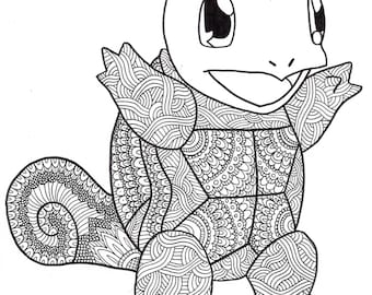 Squirtle Print