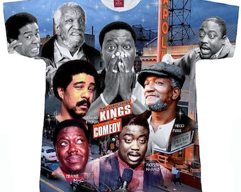 Kings Of Comedy. Bernie Mac T shirt. Redd Foxx T Shirt.