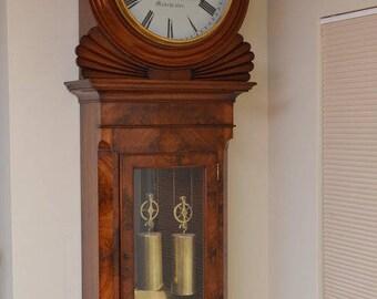 SN3359 Exceptional Regency wall clock