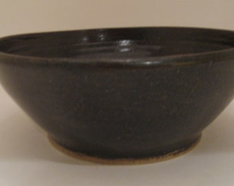 Wheel Thrown Pottery Serving Bowl