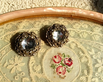 1970 large clip earrings
