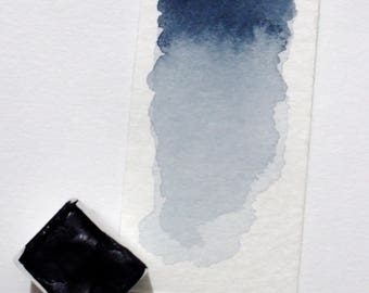 Mayan Blue - Indigo - Handmade Watercolor Paint - Artist Gift - Art Paint - Handcrafted Professional Watercolour - Natural Paint