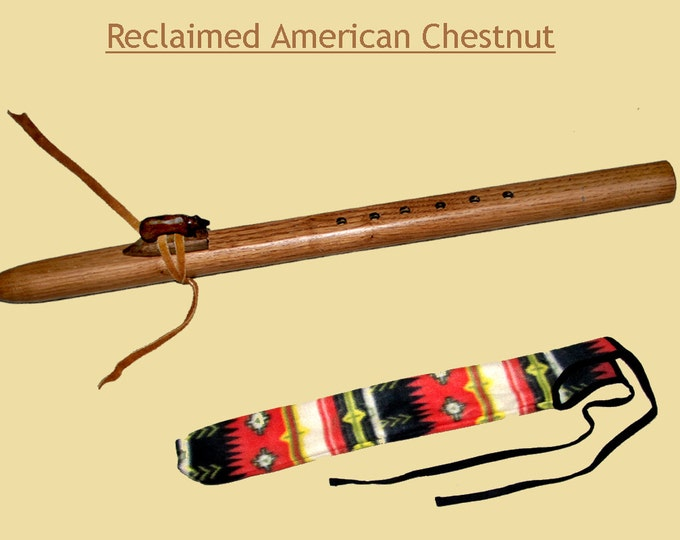 Appalachian Chestnut Flute and Case