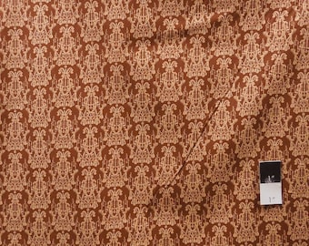 Tina Givens PWTG129 Fortiny Chandelier Droplet Chocolate Cotton Fabric 1 Yd