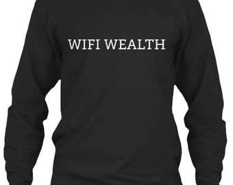 Unisex Long Sleeve Wifi Wealth™ Tee