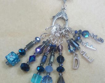 Crystal Stitch Markers for Crocheting or Knitting