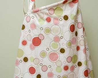 Spring Sale Clearance** Couture Mama Nursing Cover - Mod Mommy Designs - Pink Polkas
