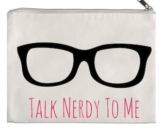 Talk nerdy to me pouch