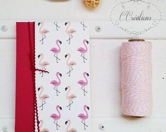 Small Notebook Flamingo