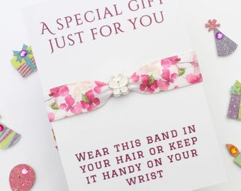 Butterfly Charm - Gift - Charm Band - Friendship Band - Bride Gift - Flowergirl Gift - Bridesmaid Gift - Wedding Gift - Handmade Gift
